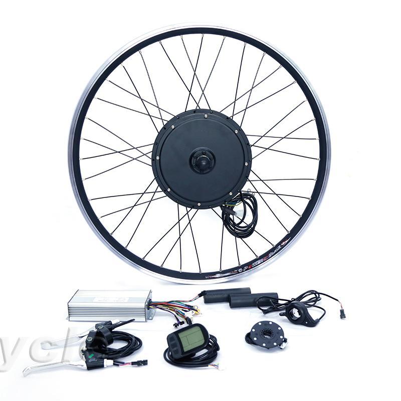 Ηλεκτρικο Κιτ Μετατροπης ποδηλατου  με μοτερ  Πίσω τροχου,   48v, 2000w για τροχό 20