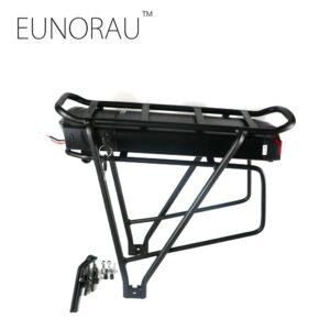 ΕΤΟΙΜΟΠΑΡΑΔΟΤΗ ΜΠΑΤΑΡΙΑ ΙΟΝΤΩΝ ΛΙΘΙΟΥ 36v 14ah (black   color)  rack black rear rack electric bike