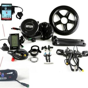 ΕΤΟΙΜΟΠΑΡΑΔΟΤΟ 8FUN BBSHD 48V 1000W Ebike Electric bicycle Motor BAFANG mid drive electric bike conversion kit C965 display with Brake sensor