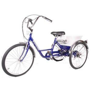 """ΕΤΟΙΜΟΠΑΡΑΔΟΤΟ Τρίκυκλο Ηλεκτρικό Ποδήλατο 24""""  με κιτ Μεσαιας Τριβής 250 w/36 V & Μπαταρία Λιθιου 10,4 Ah"""