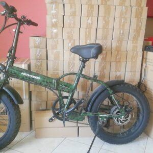 """ΕΤΟΙΜΟΠΑΡΑΔΟΤΟ 20"""" Fat tire  NOVORO Ηλεκτρικό Ποδήλατο  48V/750 w για Βουνο, Χιονι, Παραλία, Αμμο"""