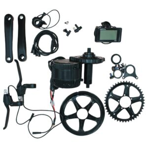 Bafang Motor BBSHD 36V/500W ΜΟΤΕΡ ΜΕΣΑΙΑΣ ΤΡΙΒΗΣ Electric Bicycle Conversion Kit with LCD display