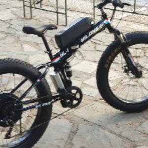 """ΕΤΟΙΜΟΠΑΡΑΔΟΤΟ 26"""" Fat tire  YiLong Σπαστό Ηλεκτρικό Ποδήλατο  48V/1000 w για Βουνο, Χιονι, Παραλία, Αμμο"""